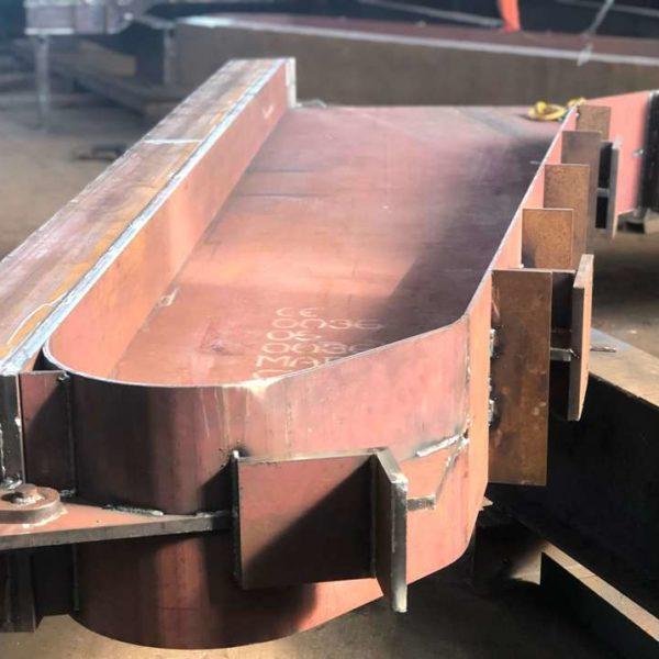 формующий отсек металлоформы полурам рпс