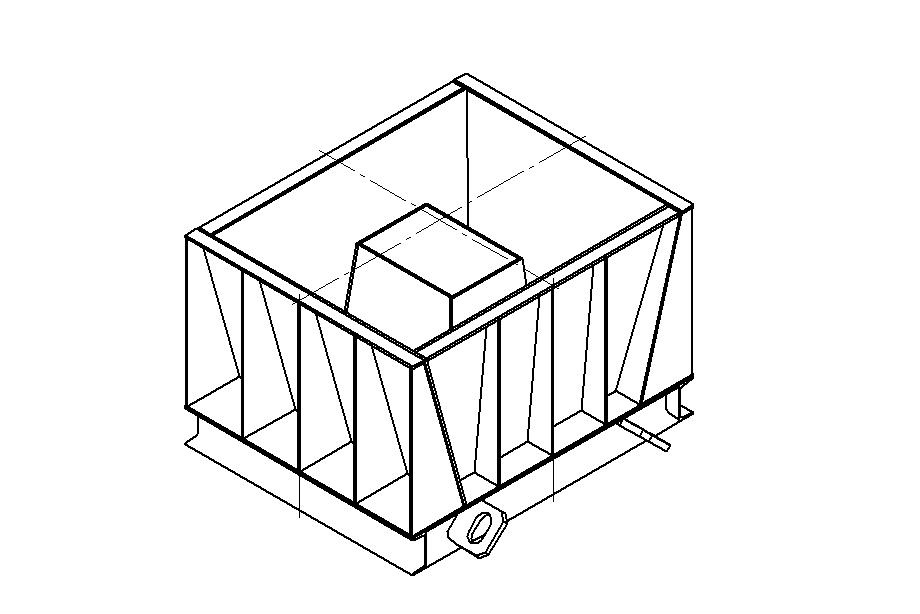 Металлоформа фундамента плит забора