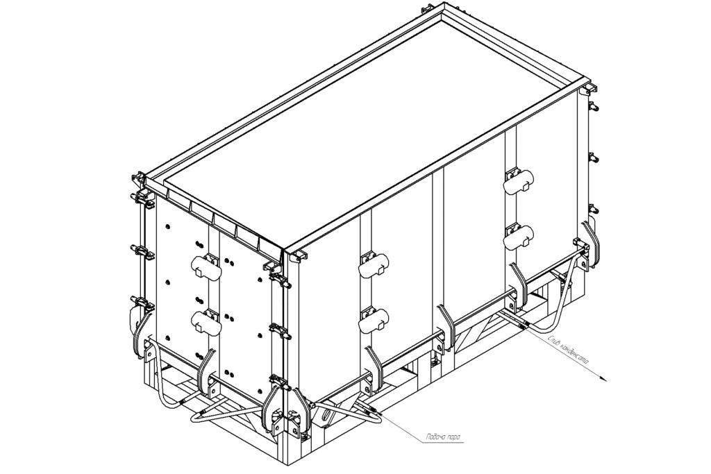Металлоформа трансформаторной подстанции