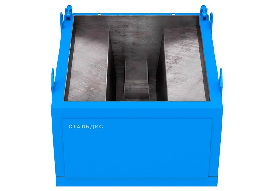 Металлоформа фундаментного стакана полурам